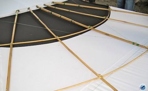 cerf volant structure