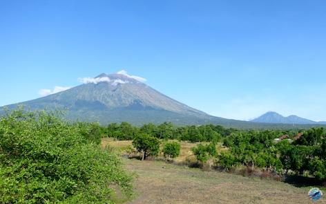Le Mont Agung